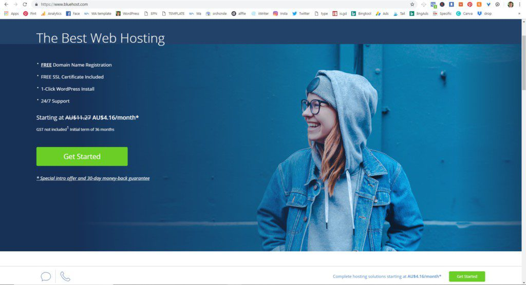 'Bluehost reviews' in this post I show you the details on the 'Bluehost web hosting' platform.