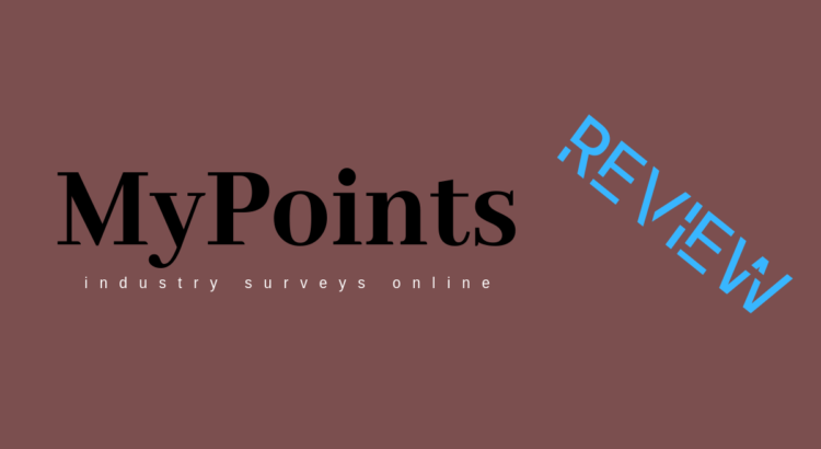 'MyPoints rewards program'. This is my review on a platform that gives you 'points for surveys'.