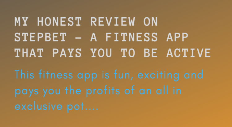If you are looking for 'fitness apps' or 'apps that pay you money' stop right here. this review is on an app called StepBet, and this app is the bomb. I'm sure you will like it, and yes it pays.