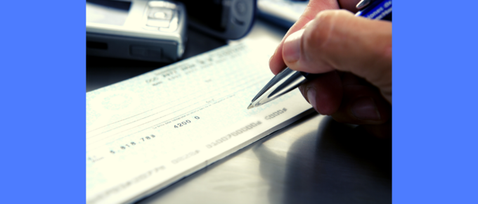 6 steps on learning how to write a check
