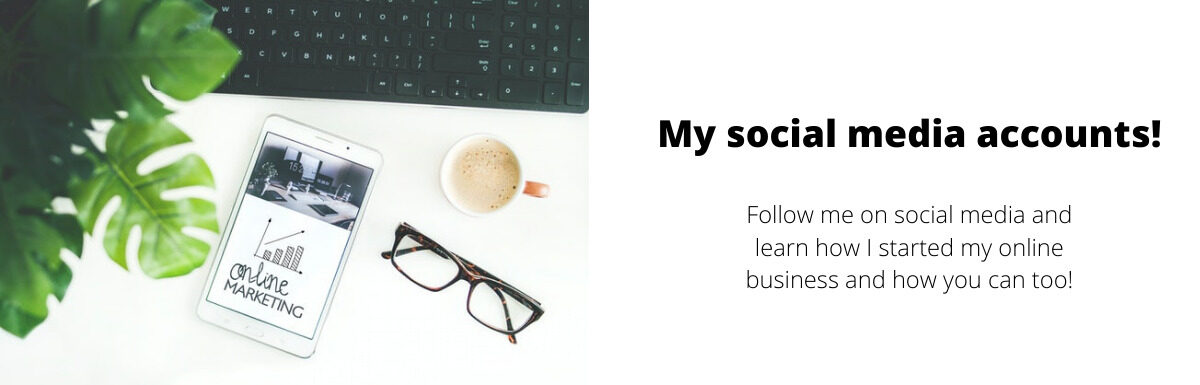 (Please) Follow me on Social Media and learn affiliate marketing