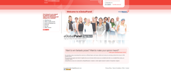 What is eGlobal Panel and are they Legit? Review