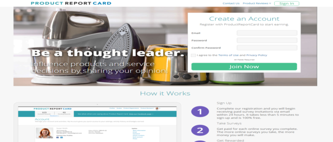 Is Product Report Card a reliable site to earn?