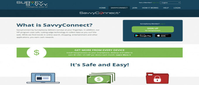 What is SavvyConnect About and can you make good money?