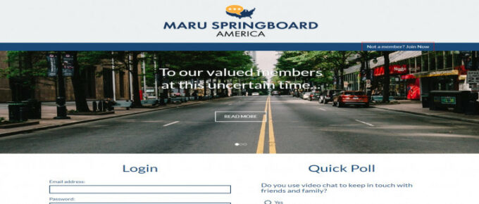 Does Springboard America offer a way to earn a reliable income?