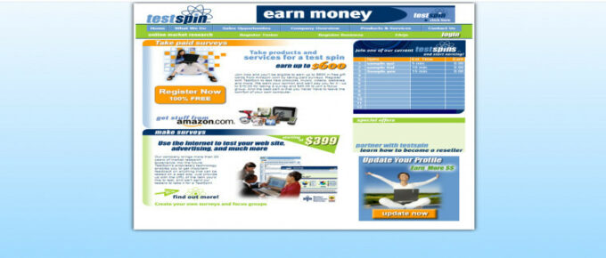 What is TestSpin About and can it make you good money?