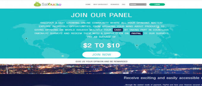 Does Saybucks offer a reliable way to earn money?