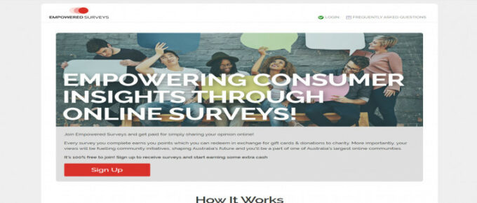 Is Empowered Surveys a reliable site to earn?