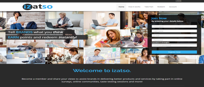 Is iZatso a reliable site to earn?