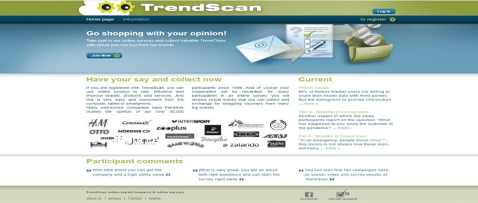 Is TrendScan a reliable site to earn?
