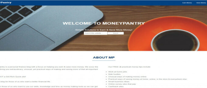 What is MoneyPantry about and is it Legit? Review