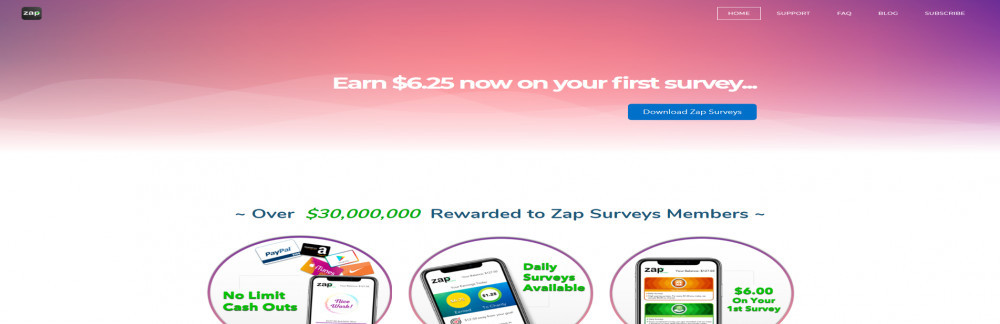 Is Zap Surveys a reliable site to earn?