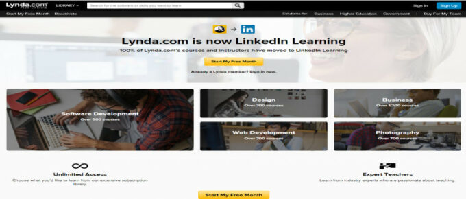Is Lynda a reliable site to learn?