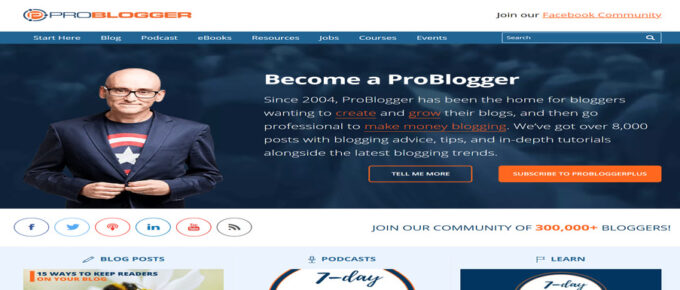 Offered Advice that makes money: What is ProBlogger About?