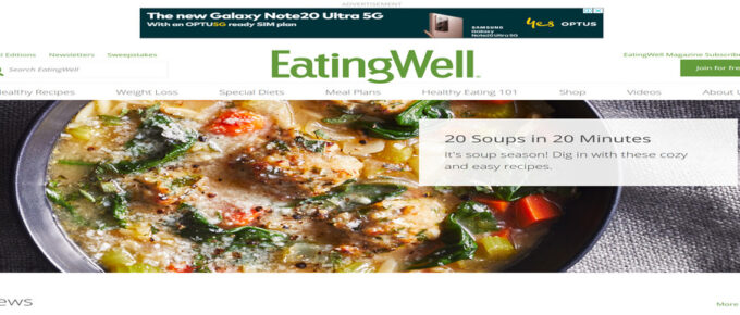 What is EatingWell About and are they Legit? Review