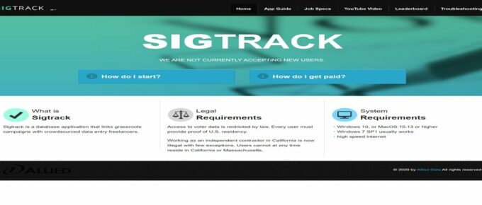 What is Sigtrack About and are they Legit? Review