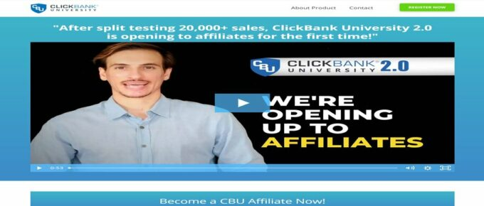 What is Clickbank University 2.0 About and is it Legit? Review
