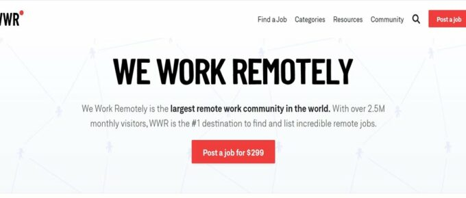 How to find a job online: What is WeWorkRemotely.com?