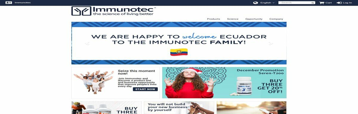 Dietary Supplements that make money: What is Immunotec.com?