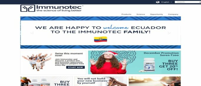 What is Immunotec.com and are they Legit? Review