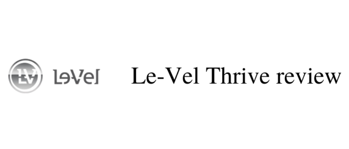 Is Le-Vel Thrive a reliable MLM to earn?