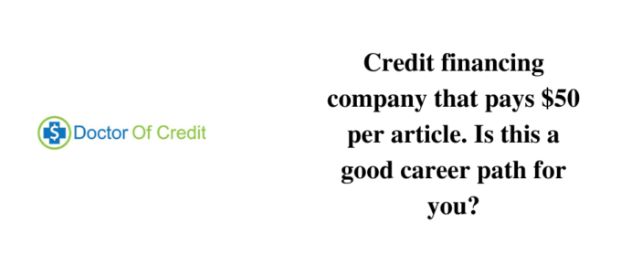 Is Doctor of Credit a reliable site to earn?