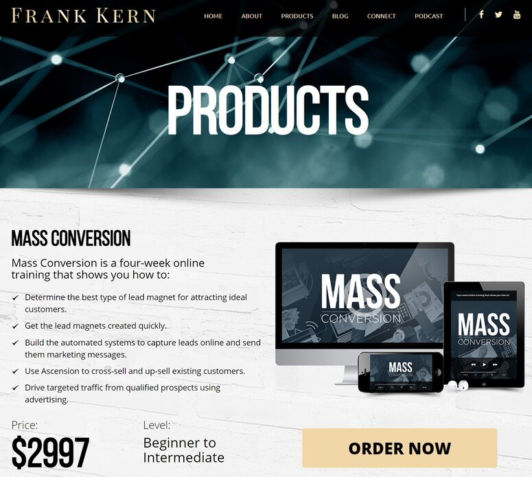 Is Frank Kern a reliable site to earn?