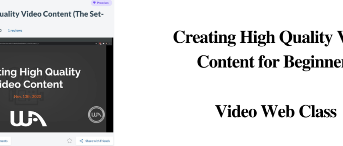 How to create High Quality Video Content (Beginners Guide)