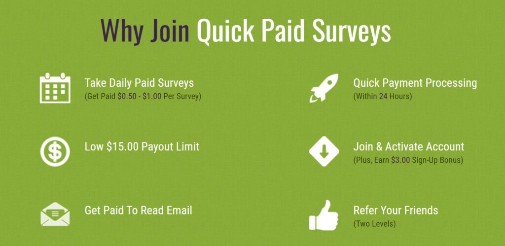 Is Quick Pay Survey a reliable site to earn?